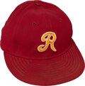 Football Collectibles:Others, 1970's Game Worn Washington Redskins Coaches Cap from The Bill Fundaro Collection....