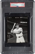 Baseball Collectibles:Photos, 1952 Willie Mays Original Photograph Used for 1952 Bowman Card, PSA/DNA Type 1. ...