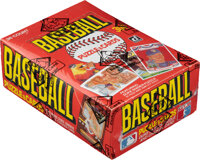1984 Donruss Baseball Wax Box With 36 Unopened Packs - Don Mattingly Rookie Year!