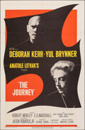 "Movie Posters:Drama, The Journey (MGM, 1959). Folded, Very Fine-. One Sheet (27"" X 41""). Drama.. ..."