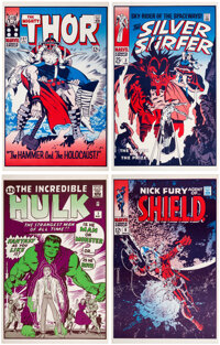 Jack Kirby and Others FOOM Poster Set of 12 (Marvel, 1974).... (Total: 12 Items)