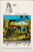"""Movie Posters:Western, The Good Guys and the Bad Guys (Warner Bros., 1969). Folded, Fine/Very Fine. One Sheet (27"""" X 41""""). Western.. ..."""