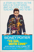"Movie Posters:Drama, To Sir, with Love (Columbia, 1967). Folded, Very Fine-. One Sheet (27"" X 41""). Drama.. ..."