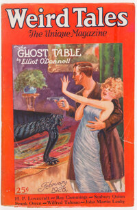 Weird Tales - February 1928 (Popular Fiction) Condition: VG