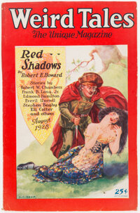 Weird Tales - August 1928 (Popular Fiction) Condition: VG