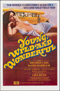 """Movie Posters:Bad Girl, Young, Wild and Wonderful & Other Lot (Gail Film, 1981). Flat Folded, Very Fine-. Posters (2) (25"""" X 38"""" & 29.5"""" X 45""""). Bad... (Total: 2 Items)"""
