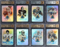 Football Cards:Lots, 2013 Panini Spectra 50th Anniversary Hall of Fame Signatures Collection (95)....
