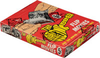 """1967 Topps The Monkees """"Flip Movies"""" Wax Box With 24 Packs"""