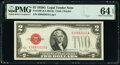 Small Size:Legal Tender Notes, Fr. 1508 $2 1928G Legal Tender Note. PMG Choice Uncirculated 64 EPQ.. ...