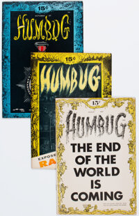 Humbug Group of 8 (Humbug, 1957-58) Condition: Average VF+.... (Total: 8 Comic Books)