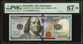 Small Size:Federal Reserve Notes, Fr. 2187-C* $100 2009A Federal Reserve Star Note. PMG Supe...