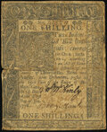 Delaware January 1, 1776 1s Very Good-Fine