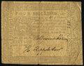 Pennsylvania March 20, 1773 4s Very Good