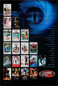 "James Bond 40th Anniversary (MGM/UA, 2002). Rolled, Very Fine+. One Sheet (27"" X 40"") SS. James Bond"