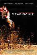 """Movie Posters:Sports, Seabiscuit (Universal, 2003). Rolled, Overall: Very Fine. One Sheets (2) (27"""" X 40"""") DS, Regular & Advance. Sports.. ... (Total: 2 Items)"""