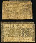 Maryland March 1, 1770 $1/3 Very Good. Maryland March 1, 1770 $2/3 Very Good. ... (Total: 2 notes)