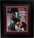 Music Memorabilia:Autographs and Signed Items, 50 Cent Signed Promo Sheet....
