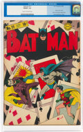 Golden Age (1938-1955):Superhero, Batman #11 (DC, 1942) CGC FN/VF 7.0 Cream to off-white pages....