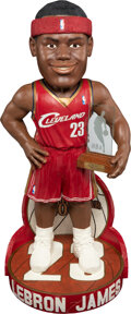 Basketball Collectibles:Others, 2003-04 LeBron James 3 Foot Rookie of the Year Bobblehead - Only 23 Made!...