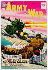 Our Army at War #85 (DC, 1959) Condition: VG-