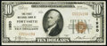National Bank Notes:Arkansas, Fort Smith, AR - $10 1929 Ty. 1 The First National Bank Ch. # 1950 Very Fine.. ...