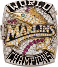 Baseball Collectibles:Others, 2003 Florida Marlins World Series Championship Ring Presented to Scout Orrin Freeman....