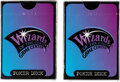 Memorabilia:Trading Cards, Wizards of the Coast Poker Decks Group of 2 (Wizards of the Coast, 1997)....