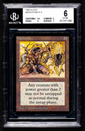 Memorabilia:Trading Cards, Magic: The Gathering Meekstone Alpha Edition BGS 6 (Wizards of the Coast, 1993)....