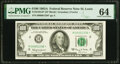 Small Size:Federal Reserve Notes, Low Series Number 1336 Fr. 2163-H* $100 1963A Federal Rese...