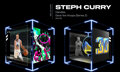 Basketball Collectibles:Others, 2020 Steph Curry NBA Top Shot (Series 2) Deck The Hoops - Handles #10/40...