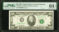 Small Size:Federal Reserve Notes, Low Serial Number 37 Fr. 2079-E $20 1993 Federal Reserve Note. PMG Choice Uncirculated 64 EPQ.. ...