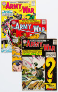 Silver Age (1956-1969):War, Our Army at War #151-190 Group (DC, 1964-68) Condition: VG-.... (Total: 42 Comic Books)
