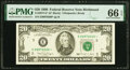 Small Size:Federal Reserve Notes, Fr. 2077-E* $20 1990 Federal Reserve Star Note. PMG Gem Uncirculated 66 EPQ.. ...