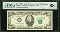 Small Size:Federal Reserve Notes, Fancy Serial Number 88222222 Fr. 2076-C $20 1988A Federal Reserve Note. PMG Superb Gem Unc 68 EPQ.. ...