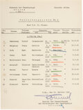 Autographs:Military Figures, German General Erwin Rommel Document Signed....
