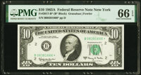 Fr. 2017-B* $10 1963A Federal Reserve Star Note. PMG Gem Uncirculated 66 EPQ