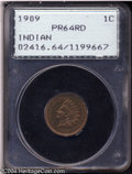 Proof Indian Cents: , 1909 1C PR64 Red PCGS. An exquisitely struck and flashy ...