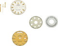 Timepieces:Other , Rolex, Two Day-Date Dials, Set Of Hands, Day-Date Discs. ... (Total: 3 Items)