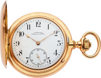 A. Lange & Söhne, 18k Gold First Quality Hunters Case, circa 1890's
