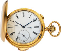 Swiss, 18k Gold Minute Repeater With Independent Center Seconds, circa 1890