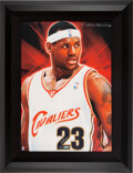 Basketball Collectibles:Others, 2005 UDA Artistic Impressions LeBron James Signed Limited Edition 23/23....