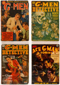 Pulps:Detective, Assorted Detective Pulps Group of 8 (Various, 1938-44) Condition: Average VG-.... (Total: 8 Items)
