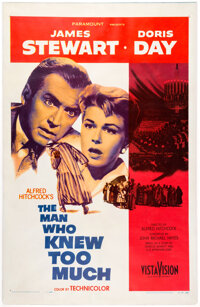 The Man Who Knew Too Much One Sheet (Paramount, 1956)