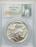 Modern Issues, 2001-D $1 Buffalo, Fraser Signature, MS69 PCGS. PCGS Population: (410/267). ...