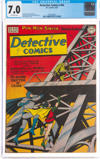 Detective Comics #160 (DC, 1950) CGC FN/VF 7.0 Off-white pages