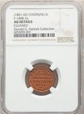 (1861-65) B.A. Wade & Co., Dry Goods, Civil War Store Card, Chemung, Illinois, Fuld-140B-2a, R.5 -- Cleaned -- NGC D...