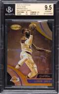 Basketball Cards:Singles (1980-Now), 2018 Panini Certified Gold Team Lebron James (Mirror Gold) #GT20 BGS Gem Mint 9.5 - #'d 9/10....
