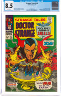 Silver Age (1956-1969):Horror, Strange Tales #156 (Marvel, 1967) CGC VF+ 8.5 White pages....