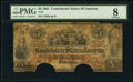 Confederate Notes:1861 Issues, T31 $5 1861 PMG Very Good 8.. ...