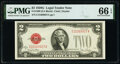 Small Size:Legal Tender Notes, Fr. 1508 $2 1928G Legal Tender Note. PMG Gem Uncirculated 66 EPQ.. ...